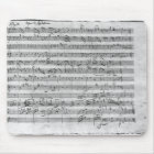 G major for violin, harpsichord and violoncello 3 mouse mat