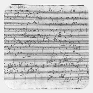 G major for violin harpsichord and violoncello 3 stickers
