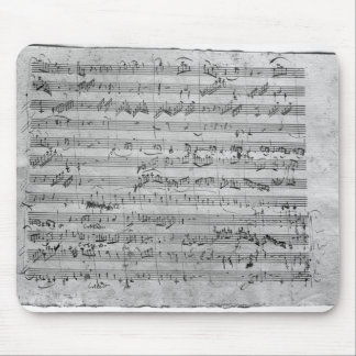 G major for violin, harpsichord and violoncello mouse mat