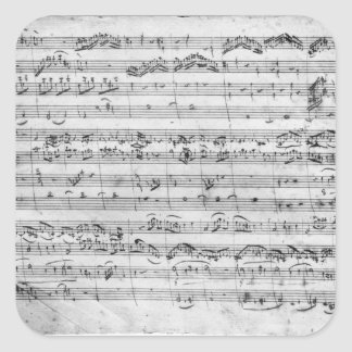 G major for violin harpsichord and violoncello stickers