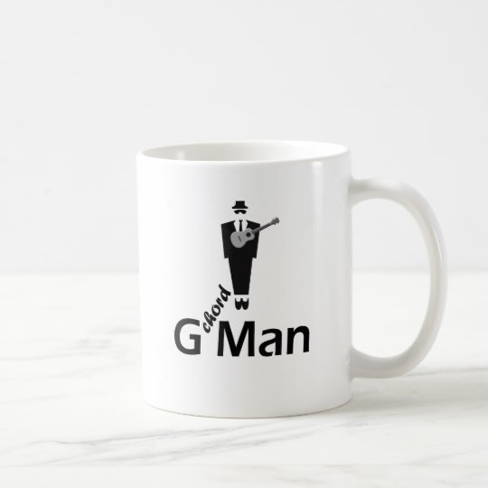 G Man Ukulele Coffee Mug
