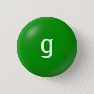 G Monogram Button