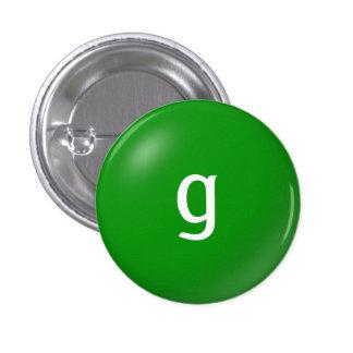G Monogram Button