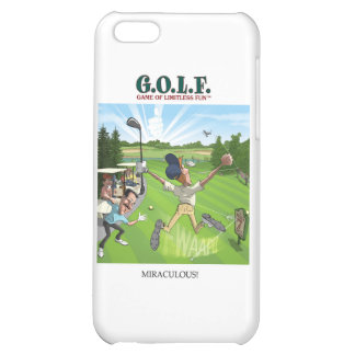G.O.L.F. GAME OF LIMITLESS FUN iPhone 5C COVER