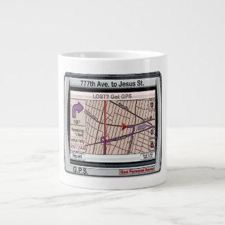 G.P.S. God Personal Savior 20 Oz Large Ceramic Coffee Mug