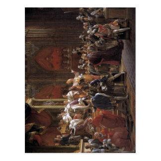 G?rard Italiano: L'incoronazione di Carlo X di Fra Postcard