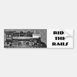 G Scale Model Train Bumper Sticker