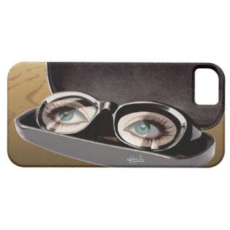 G Sharp sunglasses closeup - Surrealism iPhone 5 Case