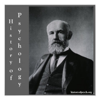 G. Stanley Hall History of Psychology Canvas Poster