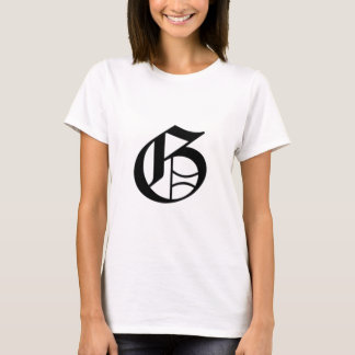G-text Old English T-Shirt