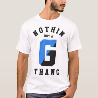 G Thang Carpet - Blue T-Shirt