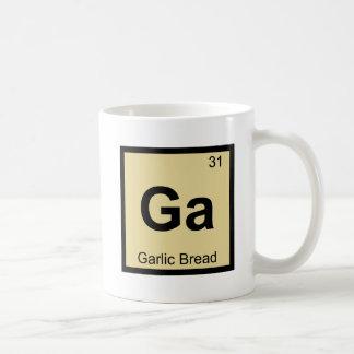 Ga - Garlic Bread Chemistry Periodic Table Symbol Coffee Mug