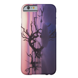 GA Jekyll Island, Tree graveyard on  beach at Barely There iPhone 6 Case
