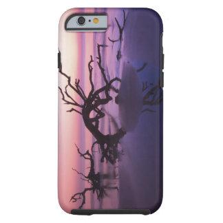 GA Jekyll Island, Tree graveyard on  beach at Tough iPhone 6 Case