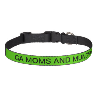 GA MOMS AND MUNCHKINS DOG COLLAR
