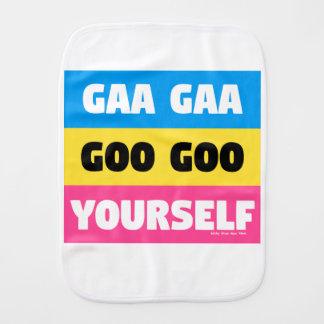 GAA GAA GOO GOO YOURSELF BURP CLOTH