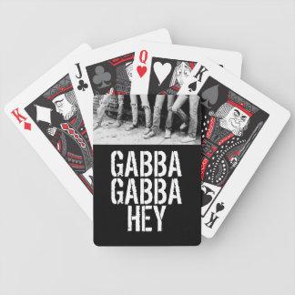 Gabba Gabba Hey Bicycle Playing Cards