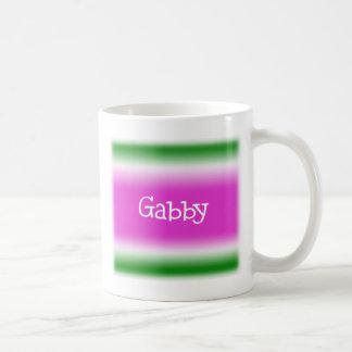 Gabby Basic White Mug