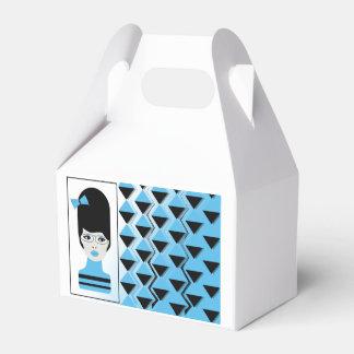 Gable Favor Box- BIG HAIR MODERN GIRL Favour Box