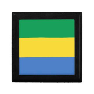 Gabon Flag Gift Box