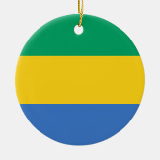 Gabon Flag Ornament