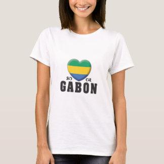 Gabon Love C T-Shirt