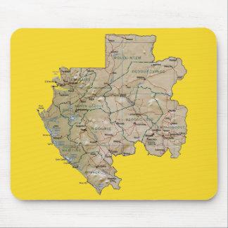 Gabon Map Mousepad