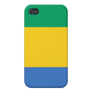 Gabon National Nation Flag  iPhone 4 Covers