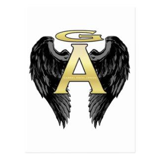 Gabriel Angel Design Wings Logo Postcard