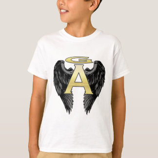 Gabriel Angel Design Wings Logo T Shirts