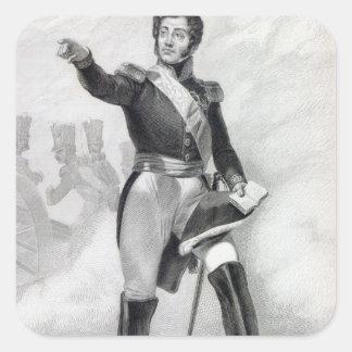 Gabriel Jean Joseph Molitor Square Sticker
