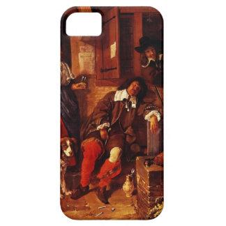 Gabriel Metsu- The Sleeping Sportsman iPhone 5 Covers