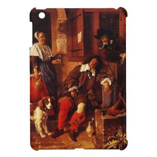 Gabriel Metsu- The Sleeping Sportsman iPad Mini Covers