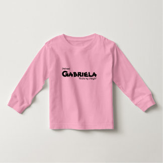Gabriela, Birth Name Tee Shirts