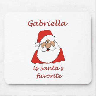 gabriella Christmas Mouse Pad