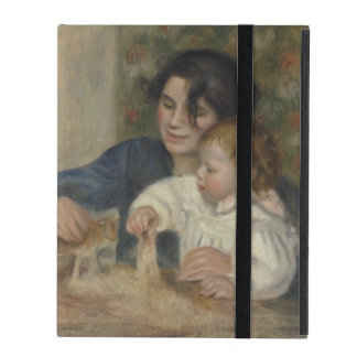 Gabrielle and Jean by Pierre-Auguste Renoir iPad Case