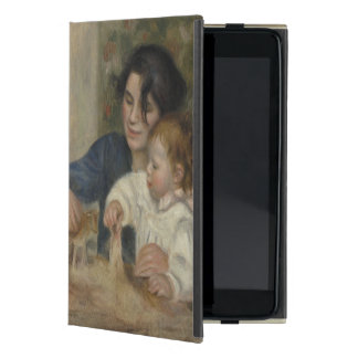 Gabrielle and Jean by Pierre-Auguste Renoir iPad Mini Cases