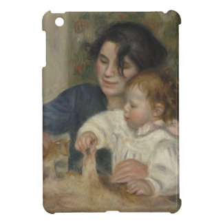 Gabrielle and Jean by Pierre-Auguste Renoir Cover For The iPad Mini