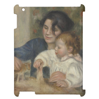 Gabrielle and Jean by Pierre-Auguste Renoir iPad Covers