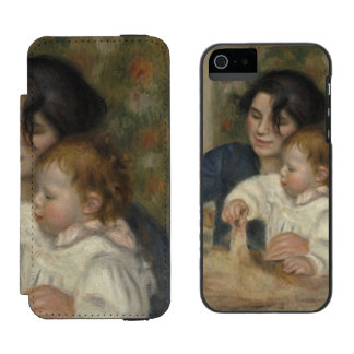 Gabrielle and Jean by Pierre-Auguste Renoir Incipio Watson™ iPhone 5 Wallet Case