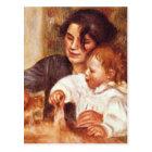 Gabrielle and Jean by Pierre Renoir Postcard