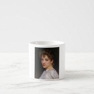Gabrielle Cot by William Adolphe Bouguereau 1890 Espresso Mug