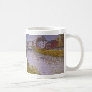 Gabriels Wharf Exeter. Painting Coffee Mug