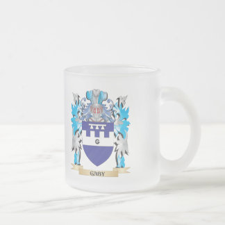 Gaby Coat of Arms - Family Crest Frosted Glass Mug
