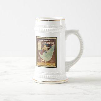 Gaby Deslys Stop! Look! Listen! Vintage Songbook C Beer Steins