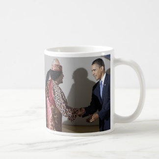 Gaddafi Gadhafi Obama One Mistake at the Time Classic White Coffee Mug