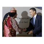 Gaddafi Gadhafi Obama One Mistake at the Time Post Cards