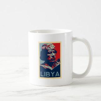 Gaddafi - Libya Basic White Mug