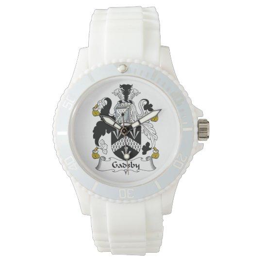 Gadsby Family Crest Wristwatch