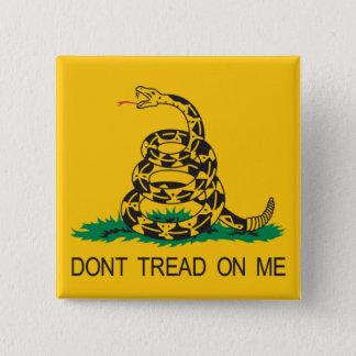gadsden 15 cm square badge